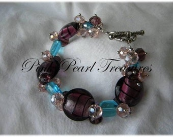 Rock Candy beaded bracelet