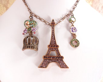 Necklace Eiffel Tower