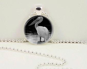 Lonely Pelican Pendant