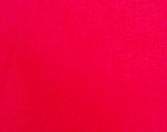 Bright Pink, Cerise 100% Organic Cotton Fabric