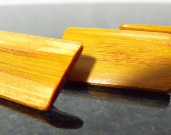 Bamboo Wood Buttons