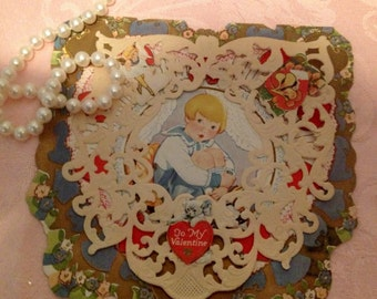 Adorable Antique Valentine's Day Card