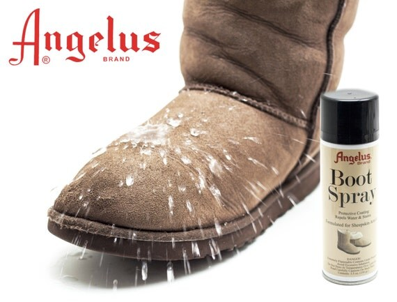sheepskin suede boot water stain protect waterproof spray