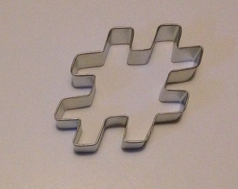 """4"""" Hashtag Cookie Cutter"""