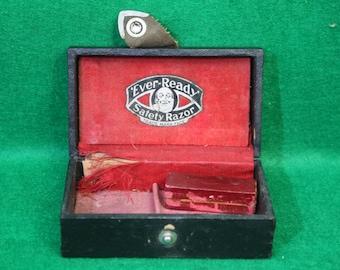 Vintage 100 year old Ever Ready safety razor case.( No Razor)