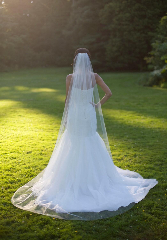 Свадьба фата длинная фото