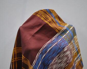 Vintage printed silk scarf ....(782)