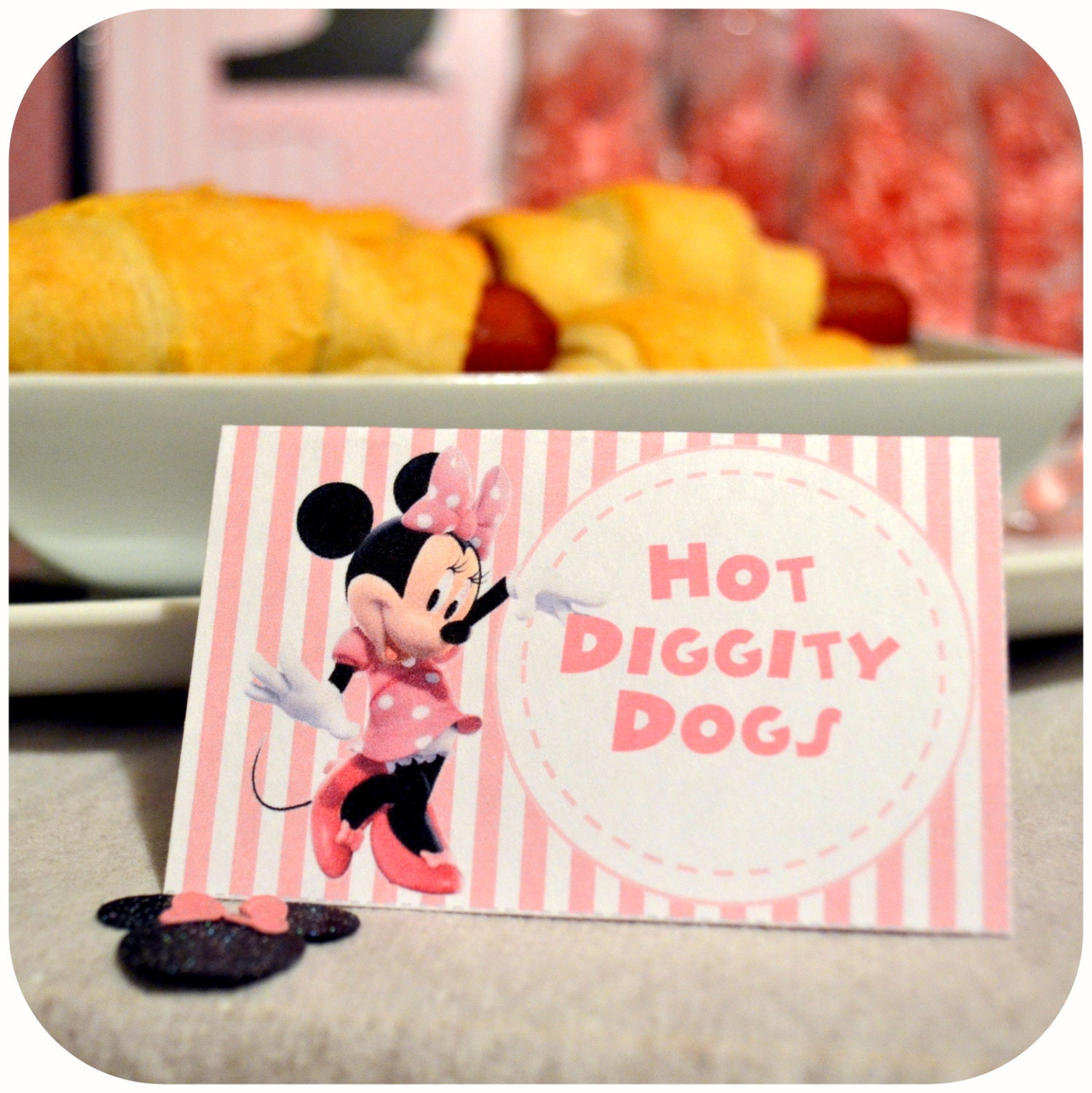 Minnie Mouse Minnie Minnie Mouse Food Labels By