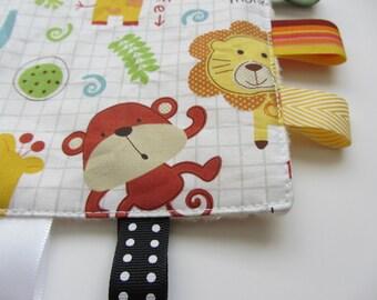 Sensory toy | Crinkle Toy | Zoo Animals