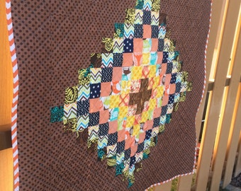 Throw or Crib size Quilt