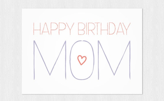 Old Fashioned image regarding birthday cards for mom printable
