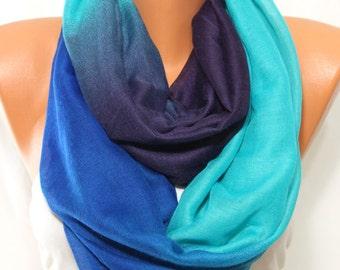 NEW Purple Blue Aqua Scarf Winter Accessories Holiday Fashion Winter Scarf Women Fashion Accessories Scarf Holiday Gift Ideas Women Scarves