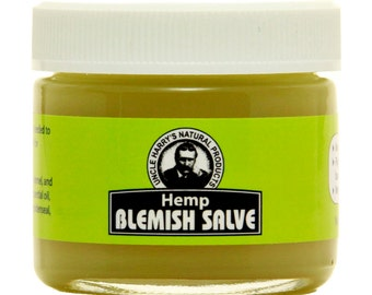 Uncle Harry's Hemp Blemish Salve, 2 Oz Glass
