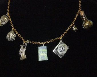 Harry Potter and the Half-Blood Prince Book Necklace
