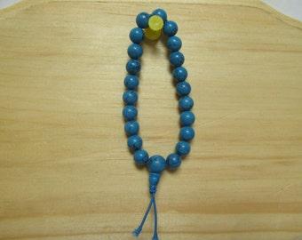 Blue Howlite Power Healing Stretch Bracelet 03 Healing Power Calming