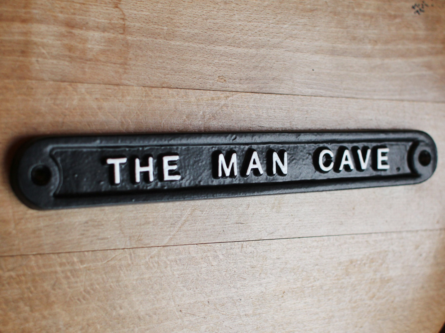 Vintage Man Cave Sign Shed Garage Dad Father 39 S By YesterHomeUK