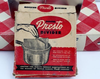 Vintage Presto Pressure Cooker Divider-Housewares-Food Prep-Pressure Cookers-Cookware-Multi Cooker-Canning-Food Preserving-Cooking Utensils