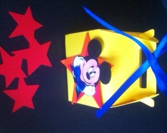 Mickey Box Favors