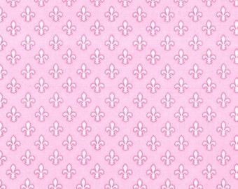 Michael Miller - Petite Fleur de Lis Item #CX6556-PINK-D