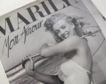 Marilyn Monroe Book Marilyn Mon Amour  Andres de Dienes