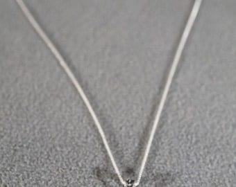 Vintage Art Deco Style Sterling Silver Garnet Marcasite Necklace Jewelry     K
