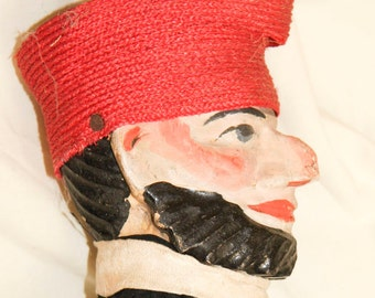 Vintage French Puppet Child Toy