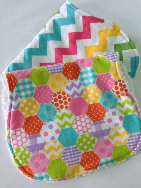 how to make burp cloths from flannel
