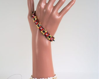 Instant download - Sera alla Scala - Set and Keira - Bracelet and Beaded Bead - 2 Beading Patterns - RAW