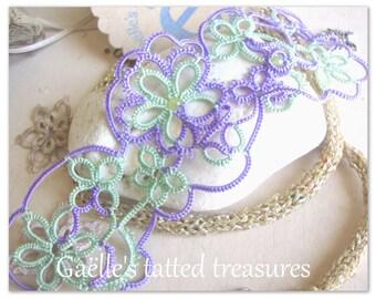 Lace bracelet 'Tat.too'