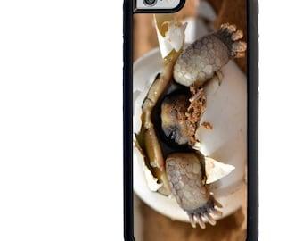 iPhone 4 4s 5 5s 5c 6 6+ Galaxy s3 s4 s5 Note 3 4 Rubber Phone Case, Baby Desert Tortoise Image Design, Turtle Phone Case, 6 Plus Case