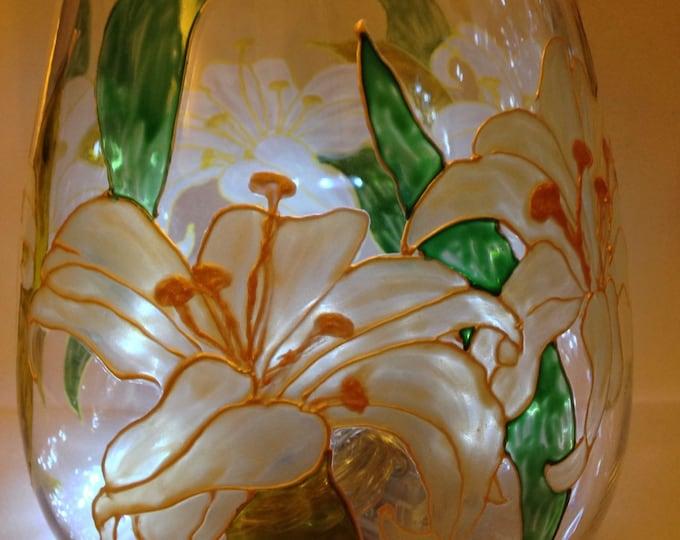 Lily vase/bowl