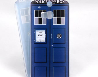Tardis inspired case for HTC One M8/M9 - Doctor Who - Time And Relative Dimension In Space