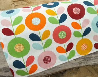 Kitchen Towel Dish Towel Floral Towel Flower Towel Tea Towel Flower Linen Hand Towel Gift For Mother Scandinavian Swedish Fabric Retro Towel