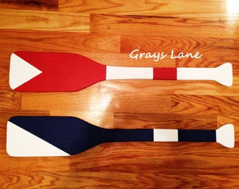 Custom Paddle - Nautical Decor
