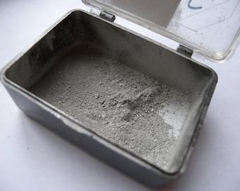 Numbered silver powder, kintsugi