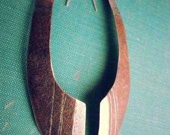 Handmade Upcycled Metal Earrings