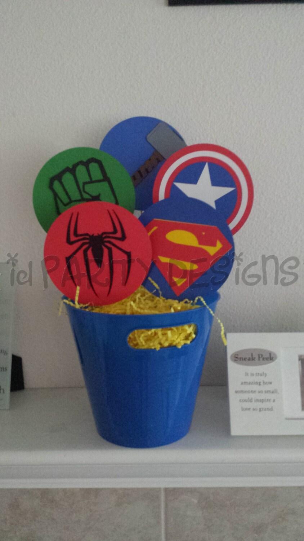 Superhero Centerpiece Avengers X Men Justice League Hulk