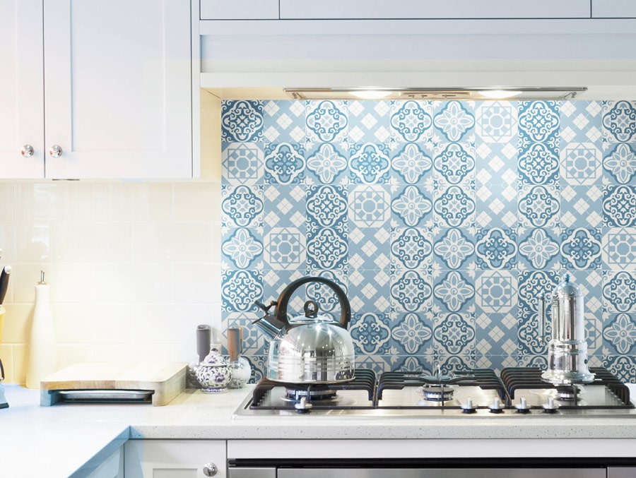 tile decal set of 15 tile stickers for kitchen tiles