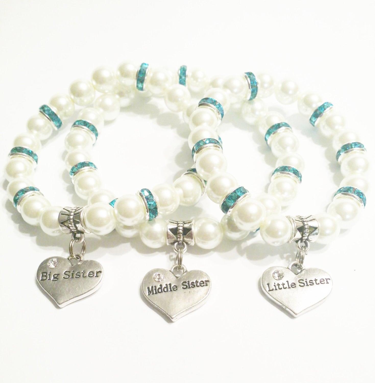3 Sisters Bracelet Set Matching Bracelet by ...