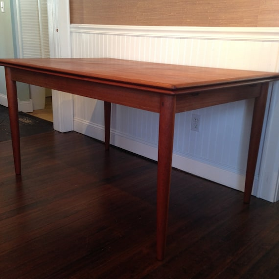 vintage danish mid century modern dining table 725 obo free nyc