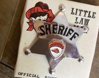 Arkansas Sheriff Badge Souvenir