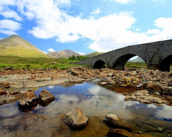 Scotland Photography, Sligachan Bridge, Isle of Skye Photography, Scotland Photo, Fine Art Photography, Scotland Landscape photos