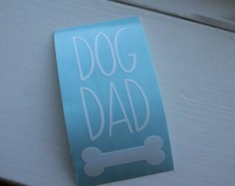 Car Decal Dog Dad, Dog Lover