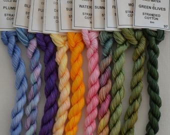 Summer Garden Collection - Stranded Cotton