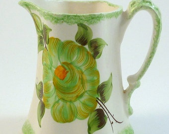 CASH FAMILY POTTERY Pitcher Cash Family Creamer Cash Family Pottery Buttermilk Pitcher Cash Family Pottery Green Pitcher