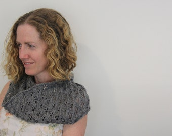 Beautiful Soft Textured Handknitted Infinity Scarf/Cowl