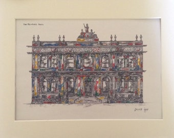 The Merchnt Hotel  Belfast Print