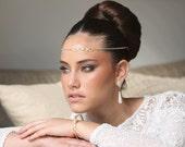 Bridal earrings, long dangling pearl earring, wedding jewelry