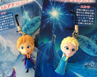 Movie Frozen figure charms.Select one.Elsa Anna
