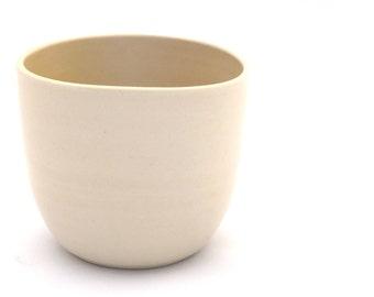 Mandarin Orange Cup   ceramic beaker   handmade beaker   cup   pottery   coffee tea hot chocolate chai   bowl